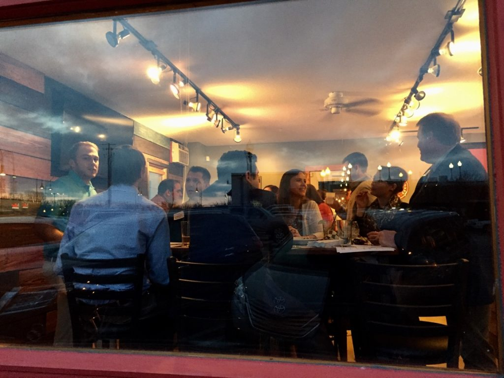 Outside looking in at Waconia Young Professionals